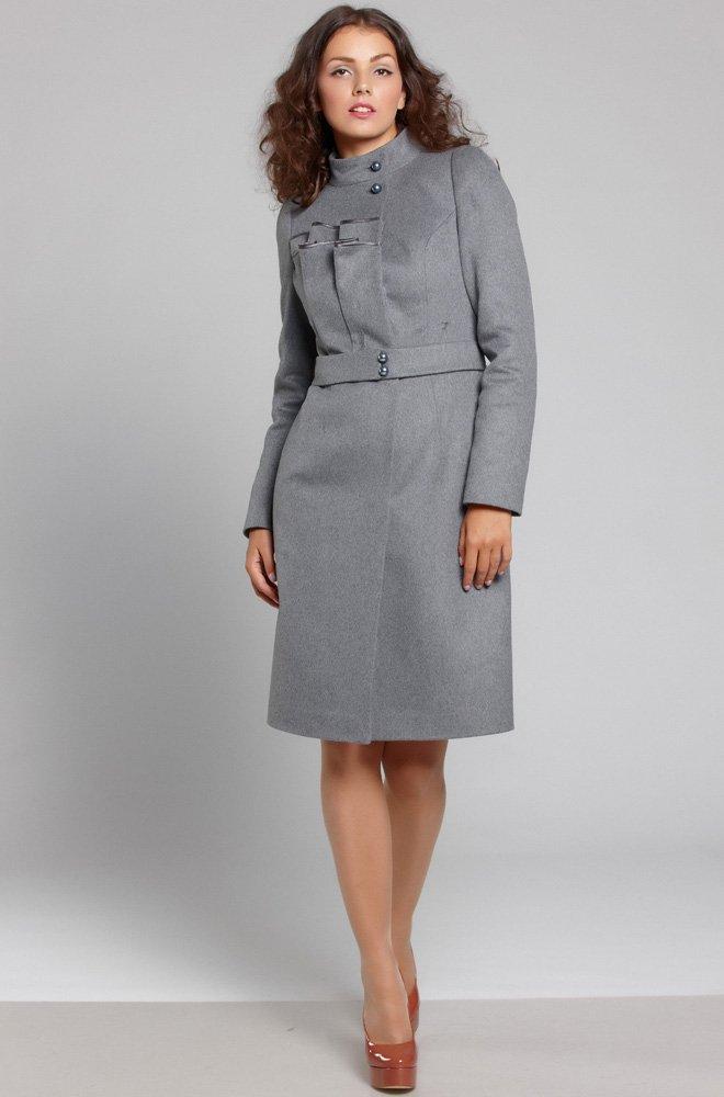 Пальто из мягкой итальянской шерсти с кашемиром
