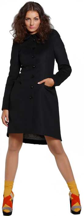 Великолепное пальто из мягкой итальянской шерсти с кашемиром