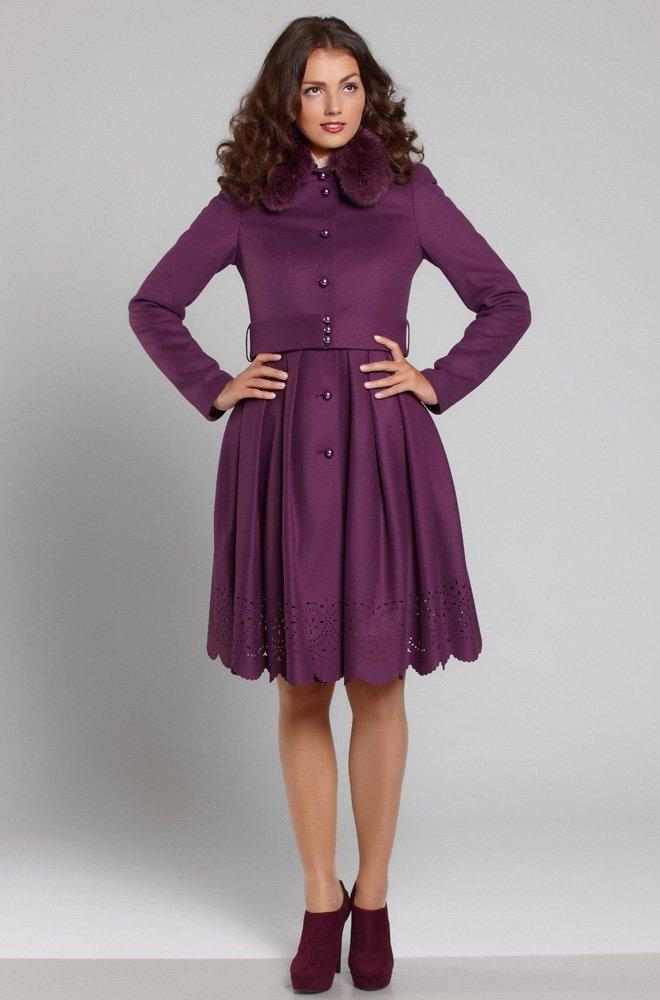 Шикарное пальто из мягкой итальянской шерсти