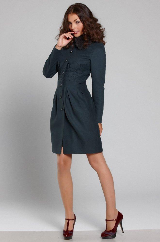 Пальто из итальянской шерсти
