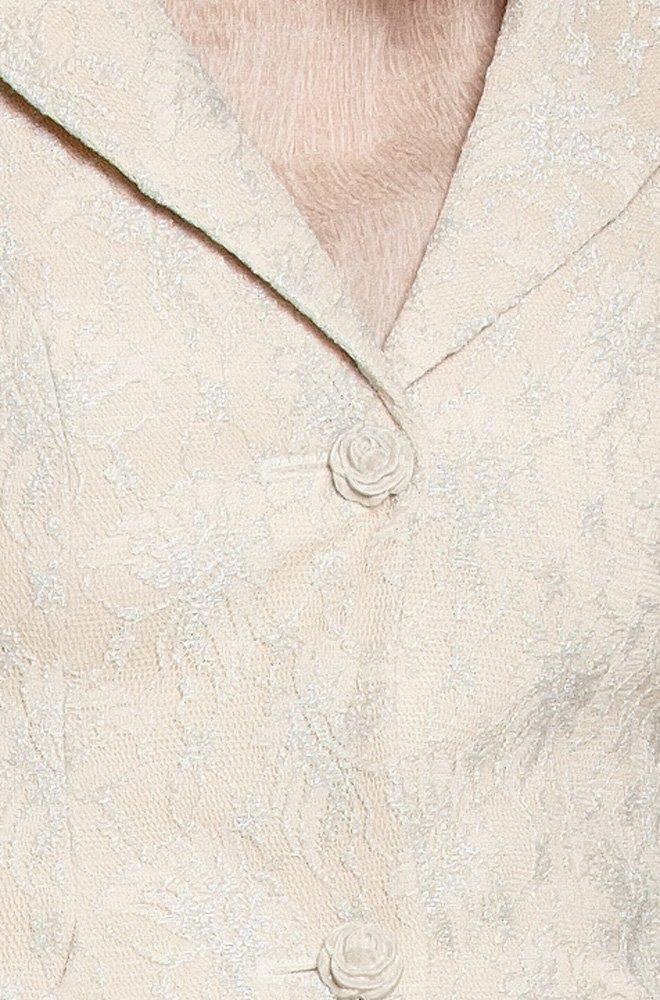 Юбка белая из итальянского кружева