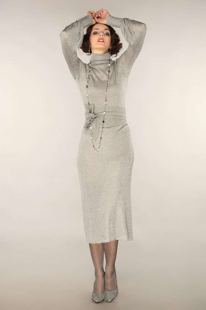 Платье «Серебристое»