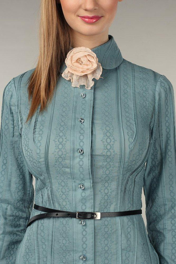 Блуза из хлопкового шитья