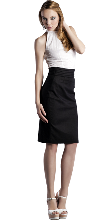 Шифоновая блуза  с американской проймой, белого цвета