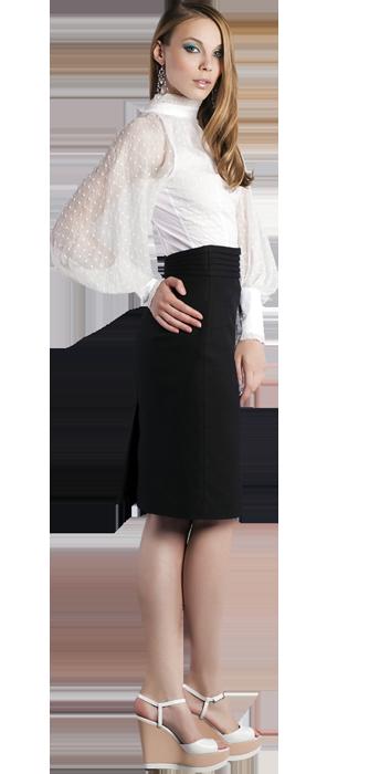 95683143b46 Блузка с пышными рукавами с американской проймой и пышними рукавами ...
