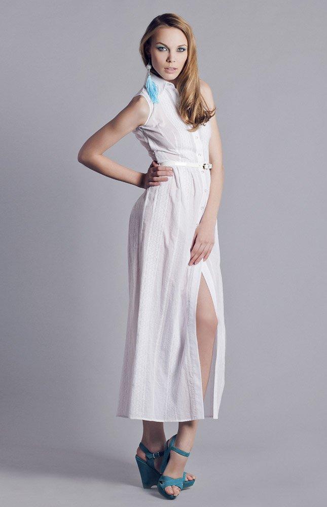 729225cce1e Платье длиной в пол - легкий и непринужденный вариант на лето