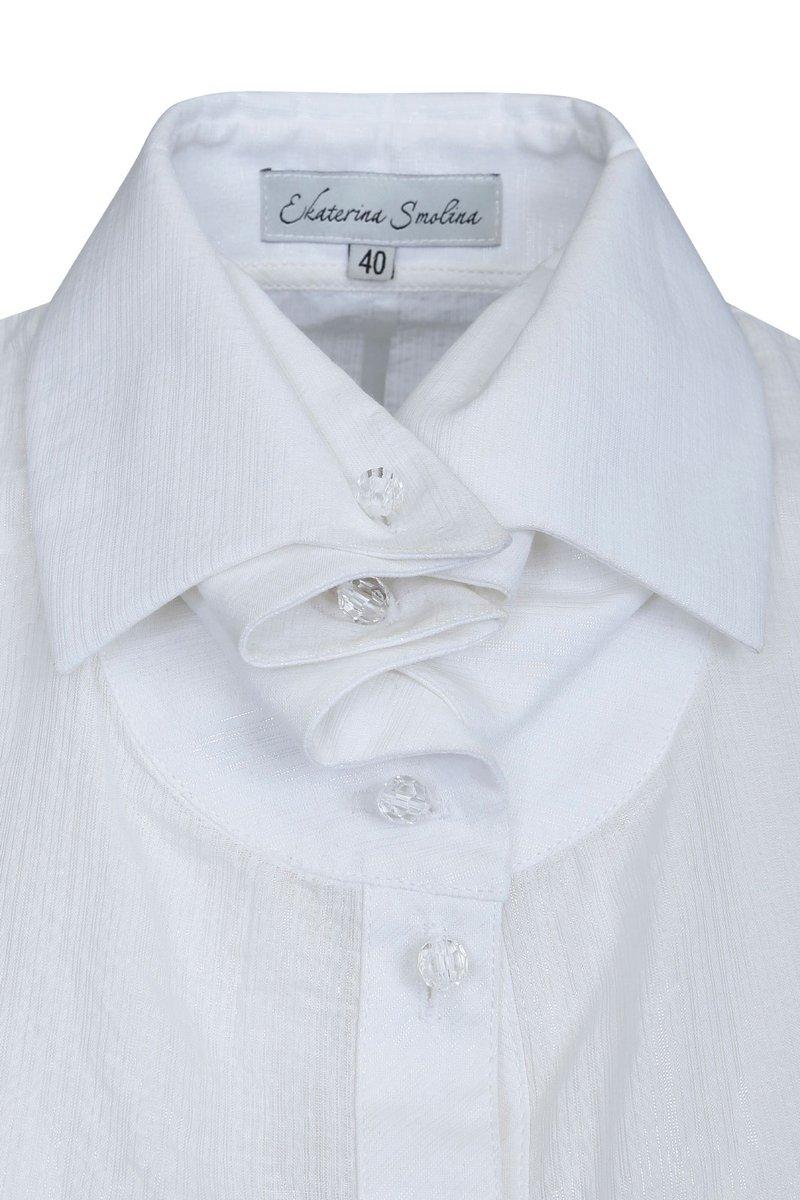 Блуза белая из хлопка