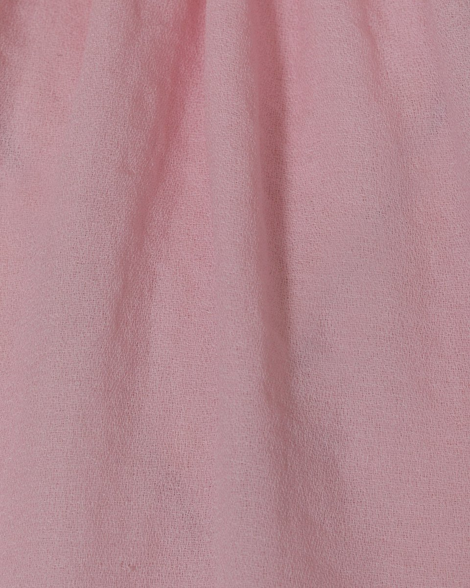 Блуза розового цвета с воротником-стойкой