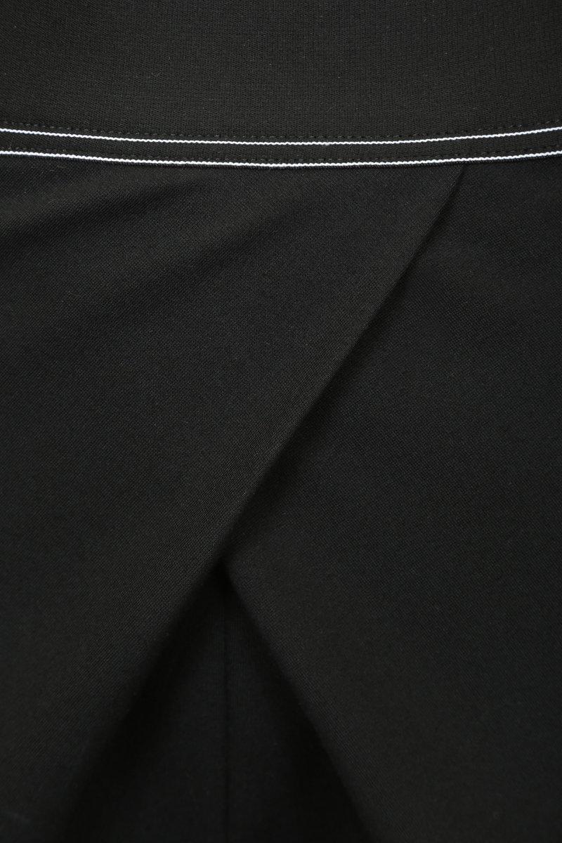 Брюки галифе черного цвета
