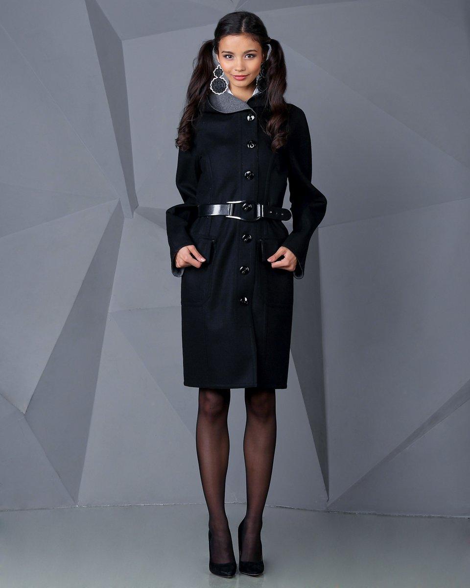 Двустороннее пальто с капюшоном