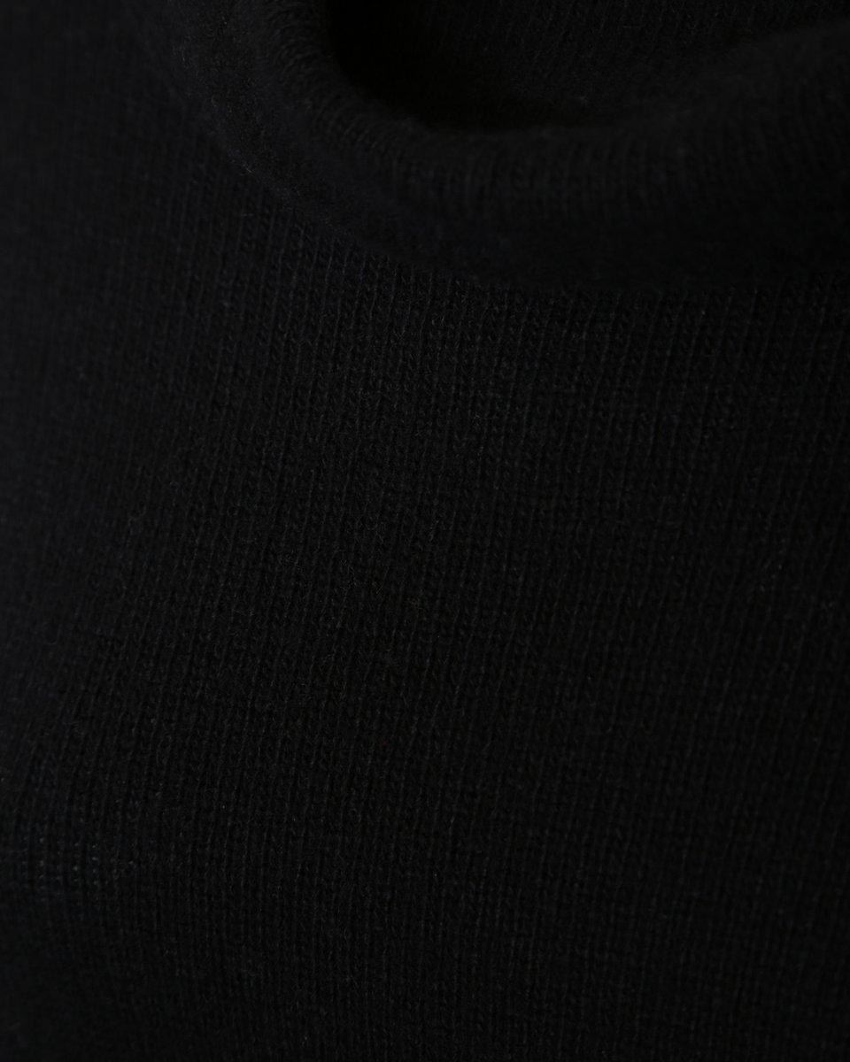 Джемпер из шерсти и кашемира, с объемным воротником