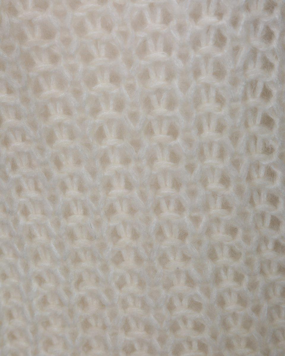 Джемпер из премиальной шерсти крупной вязки