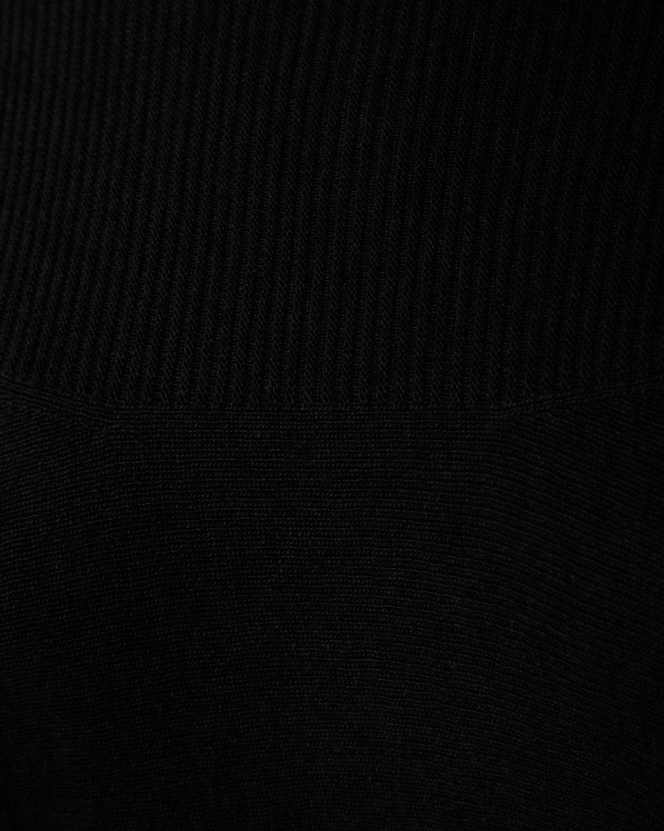 Джемпер из кашемира и шерсти, черного цвета