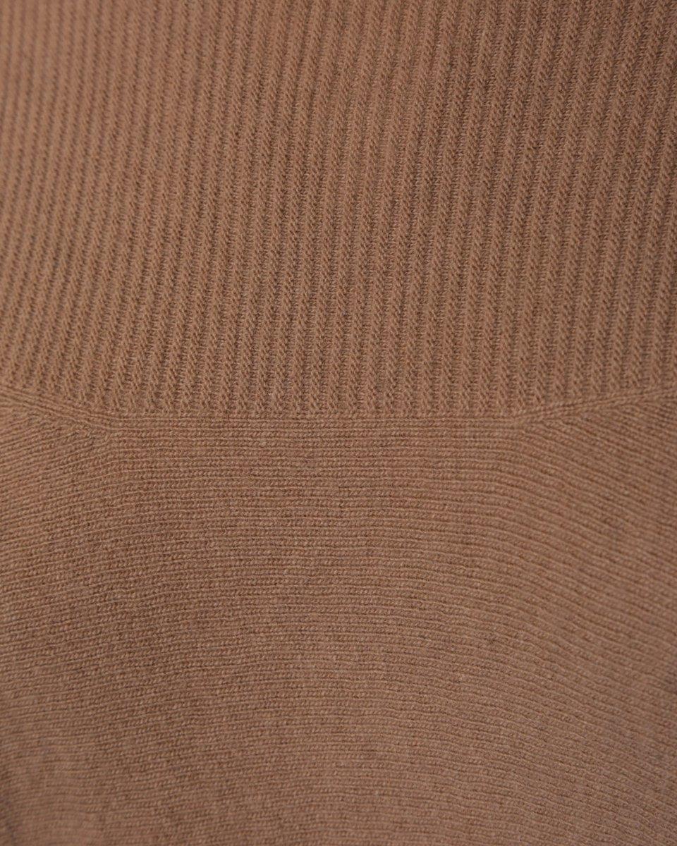 Джемпер из кашемира и шерсти, бежевого цвета