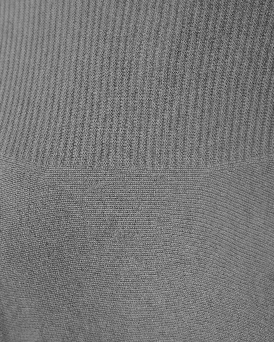 Джемпер из кашемира и шерсти, светло-серого цвета