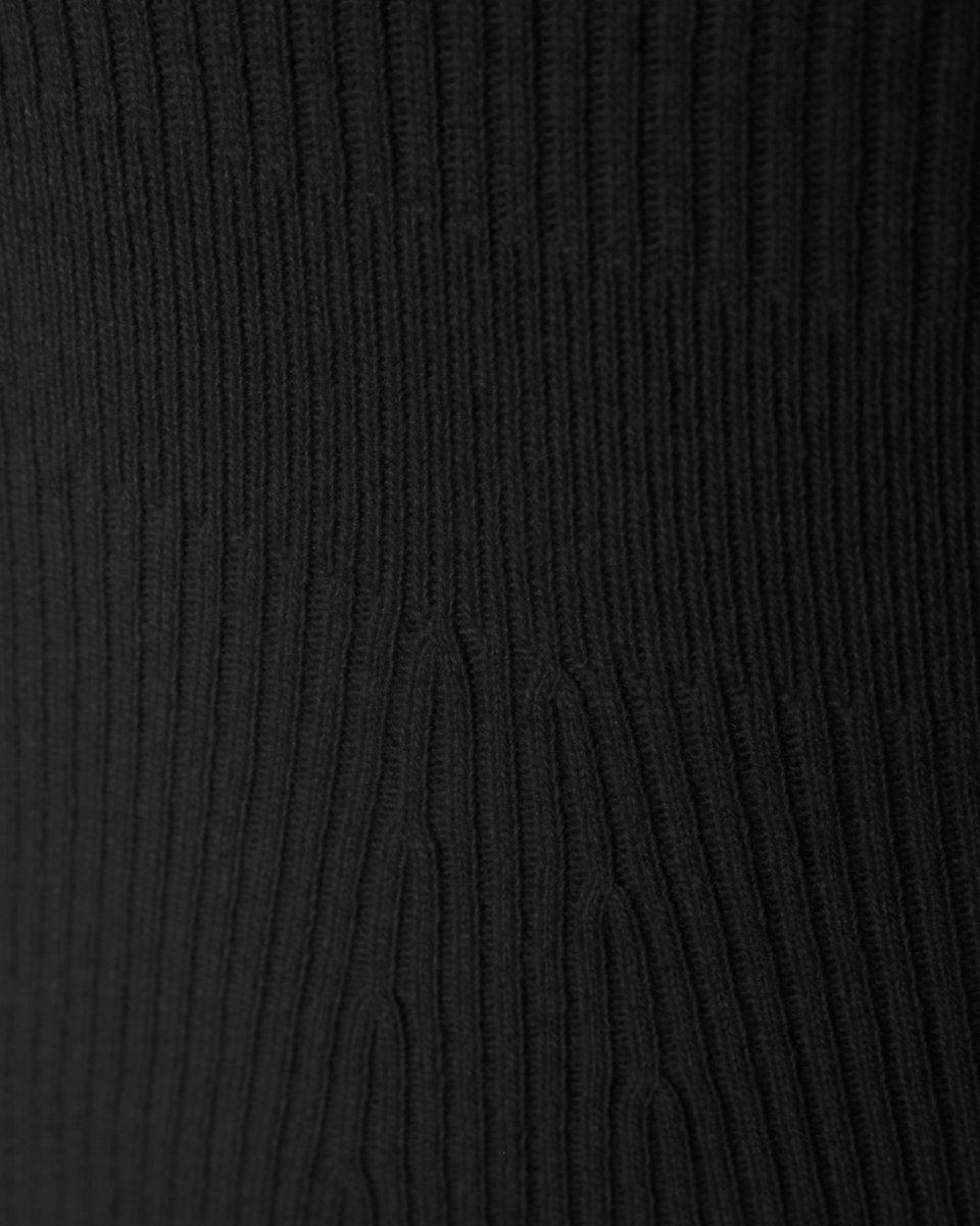 Джемпер из шерсти и кашемира, со свободными рукавами, графитового цвета
