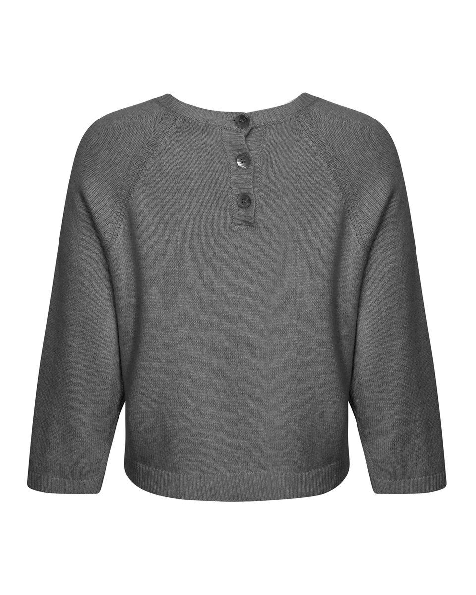 Джемпер и шерсти и кашемира, с карманом