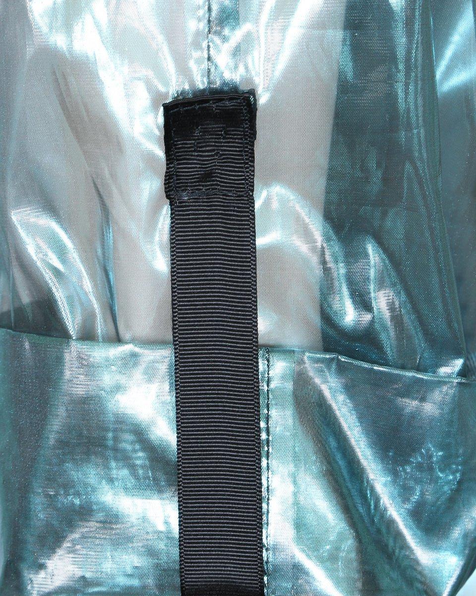 Кимоно из органзы бирюзового цвета