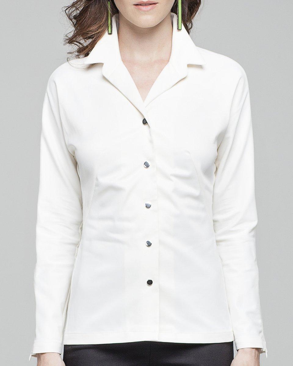 Классическая рубашка с цельнокроеным рукавом