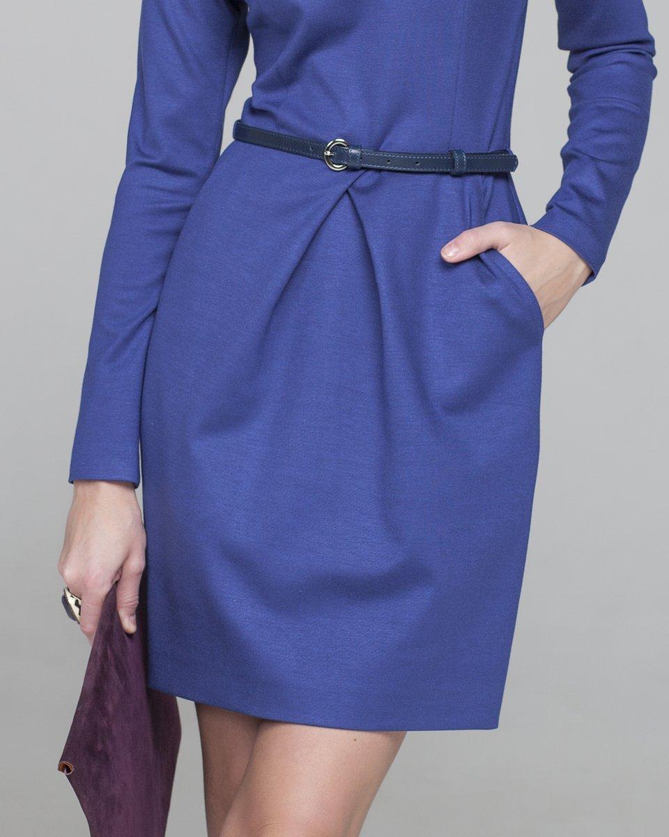 Коктейльное платье с юбкой-тюльпан