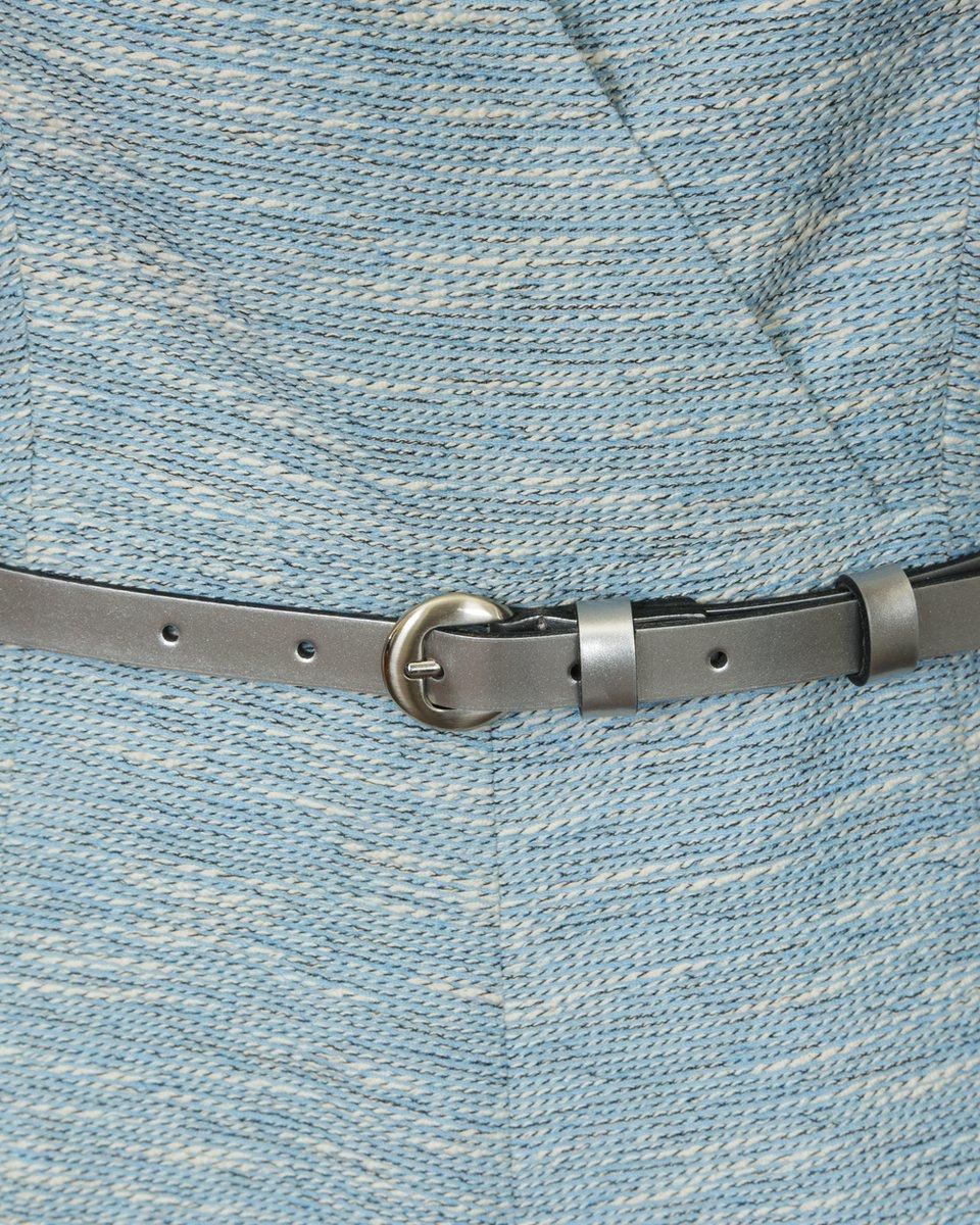 Комбинезон-шорты голубого цвета