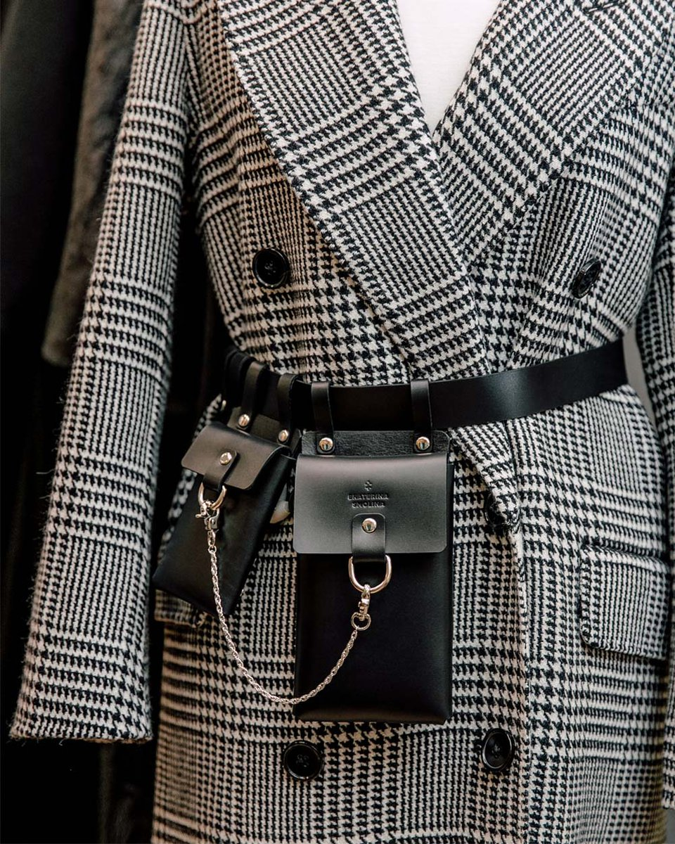 Поясная сумка-ремень со съемными карманами