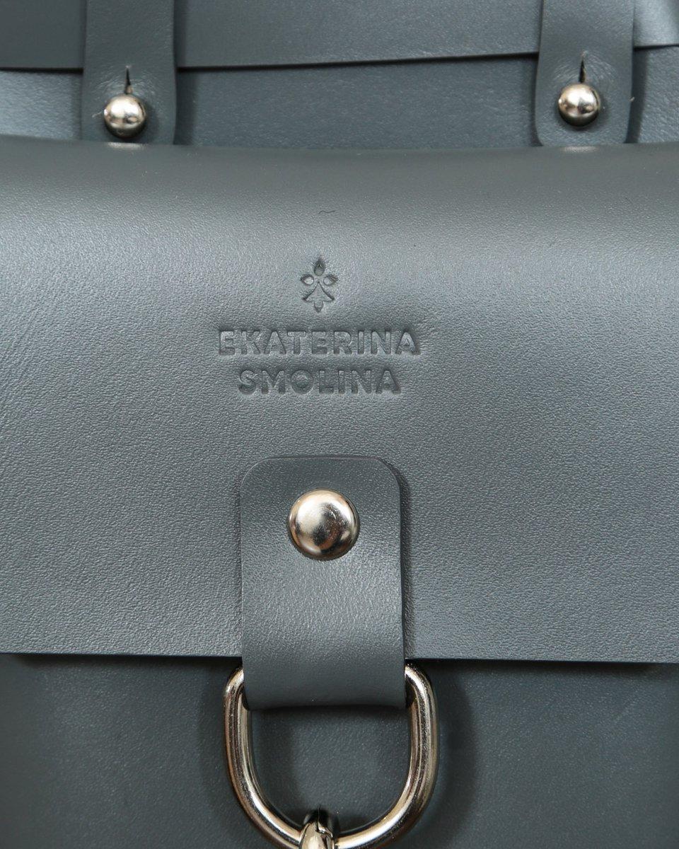 Поясная сумка-ремень серого цвета со съемными карманами