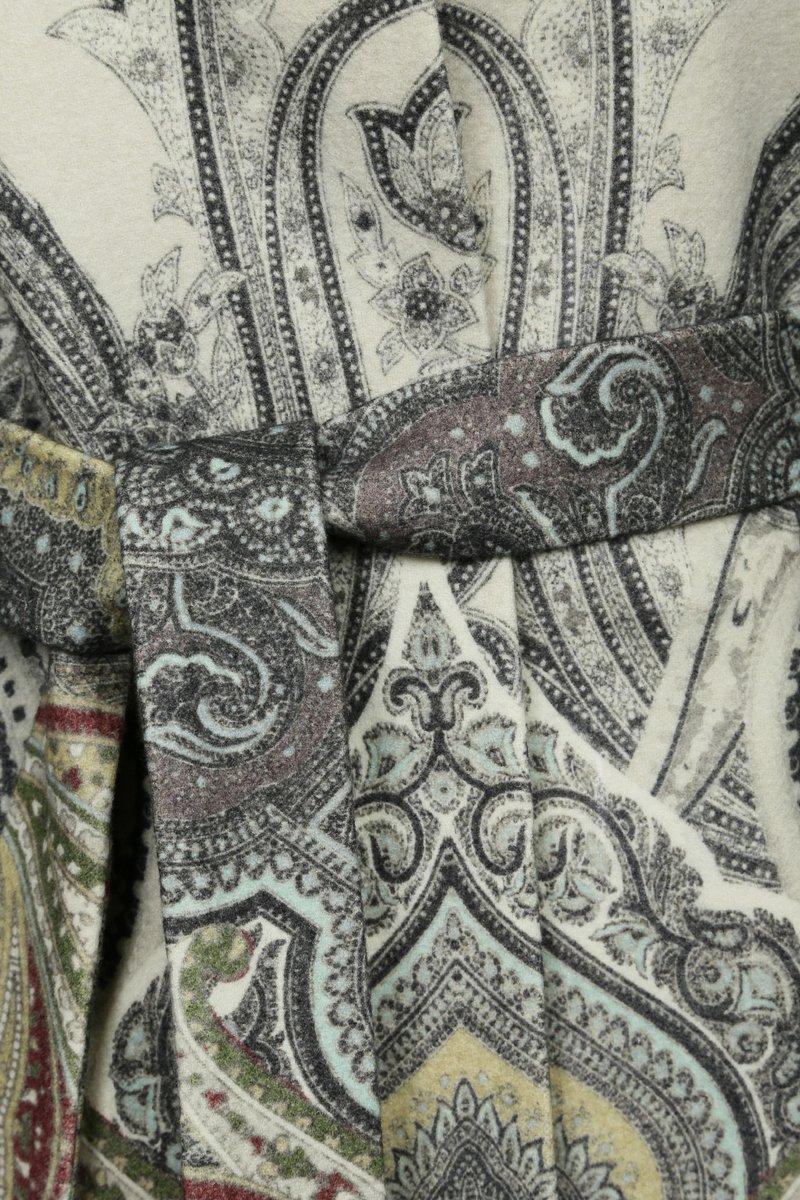 Пальто длинное из шерсти