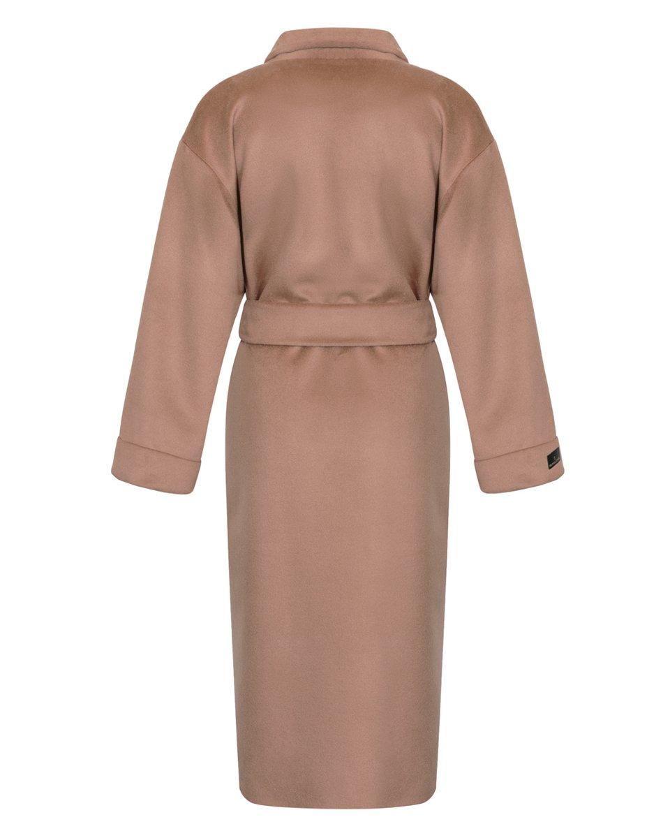 Пальто-кимоно бежевого цвета