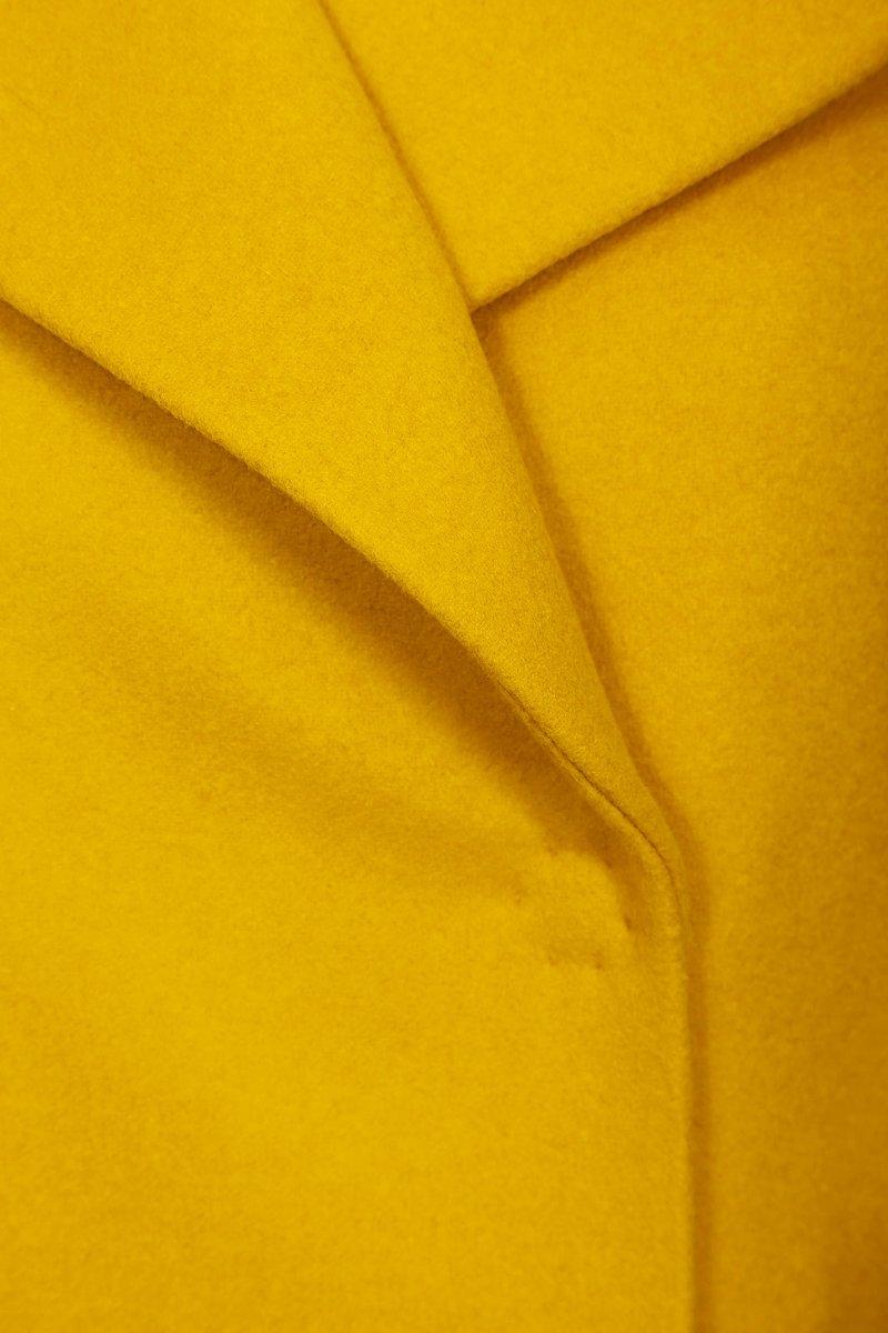 Пальто свободного силуэта, из шерсти