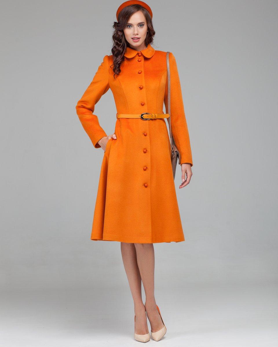 Пальто с юбкой солнце