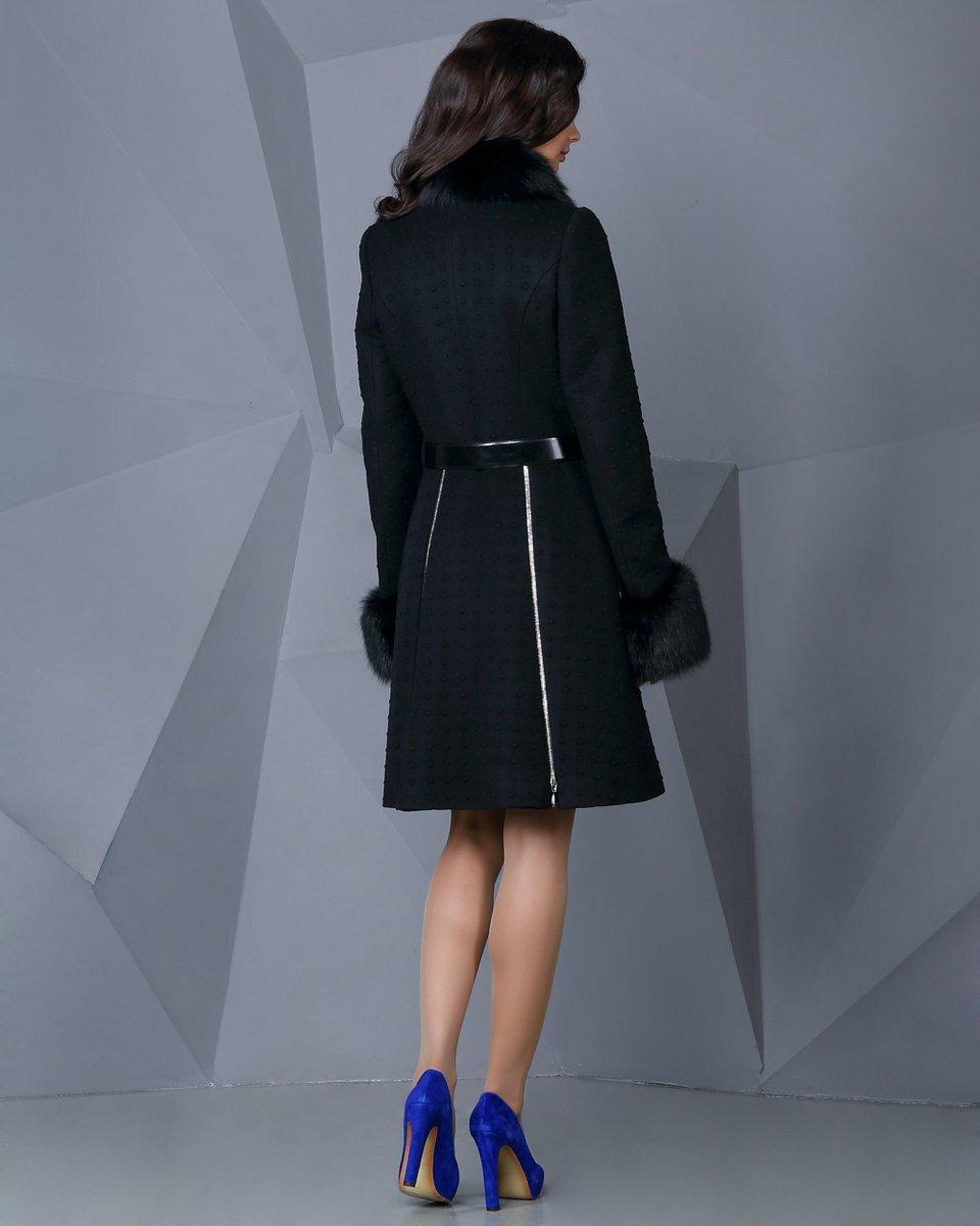 Пальто-трансформер с клиньями