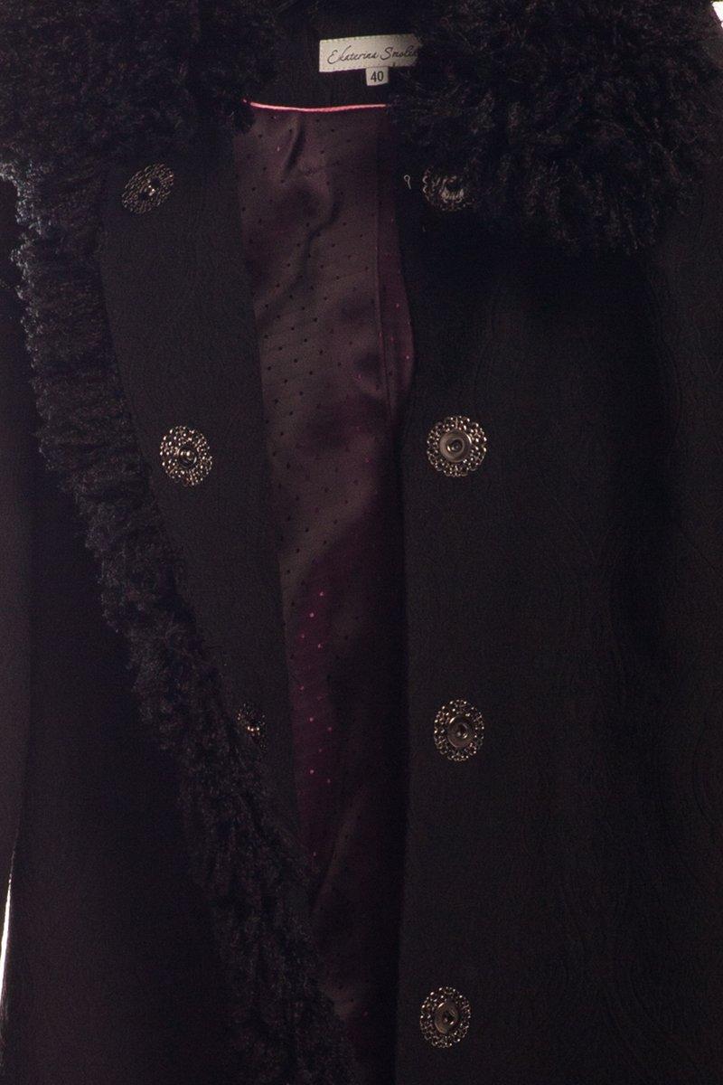 """Пальто-трансформер с отстегивающимися рукавами """"Снегурочка"""""""