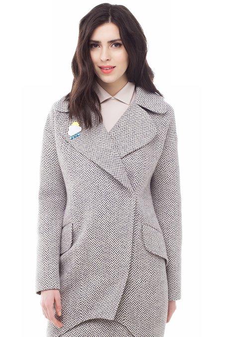 2a9e7fcbf71 Купить бежевое пальто. Модный дом Екатерины Смолиной.