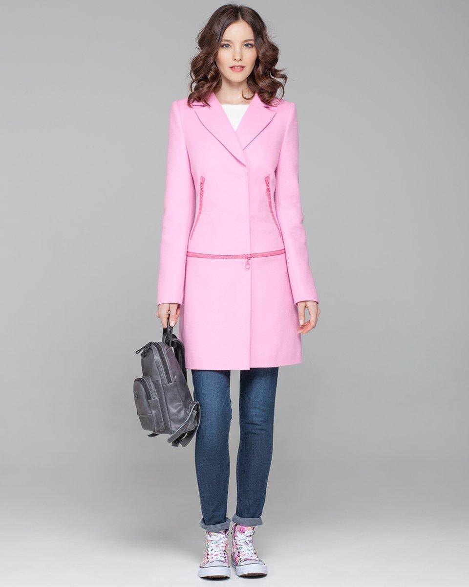 Пальто-трансформер из яркой шерсти