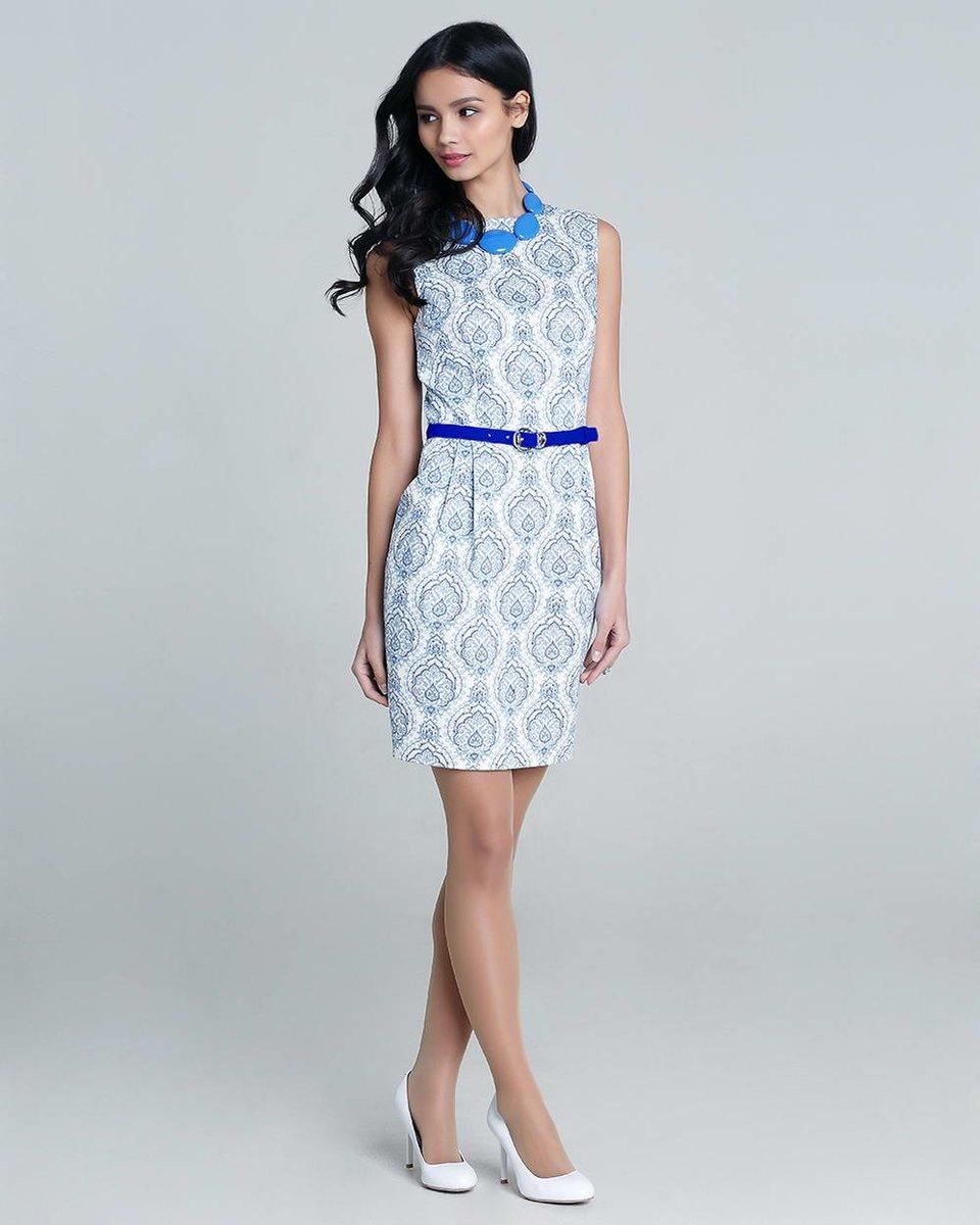 Платье из хлопка с топом