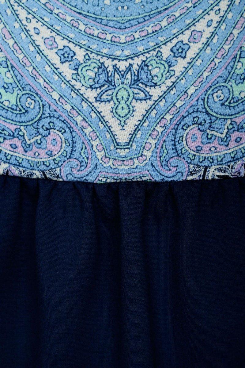 Платье с заниженной линией талии и пышной юбкой