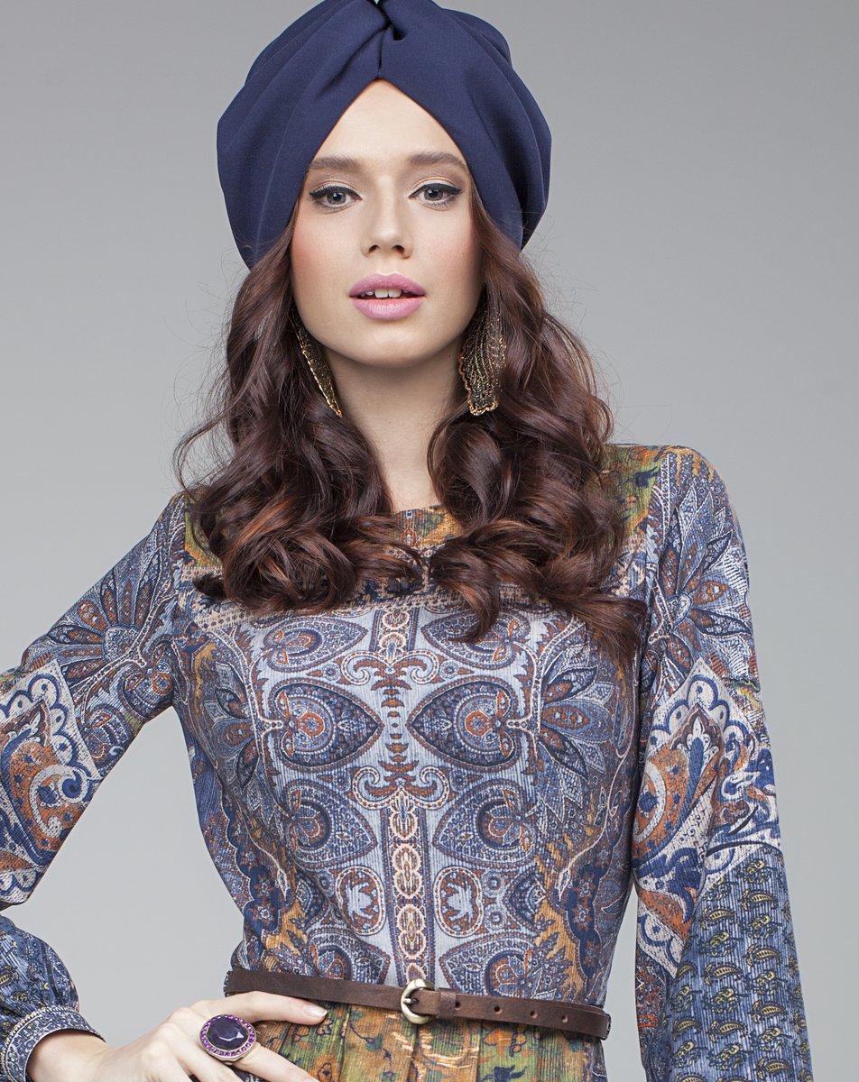 """Платье с принтом """"арабский ковер"""""""