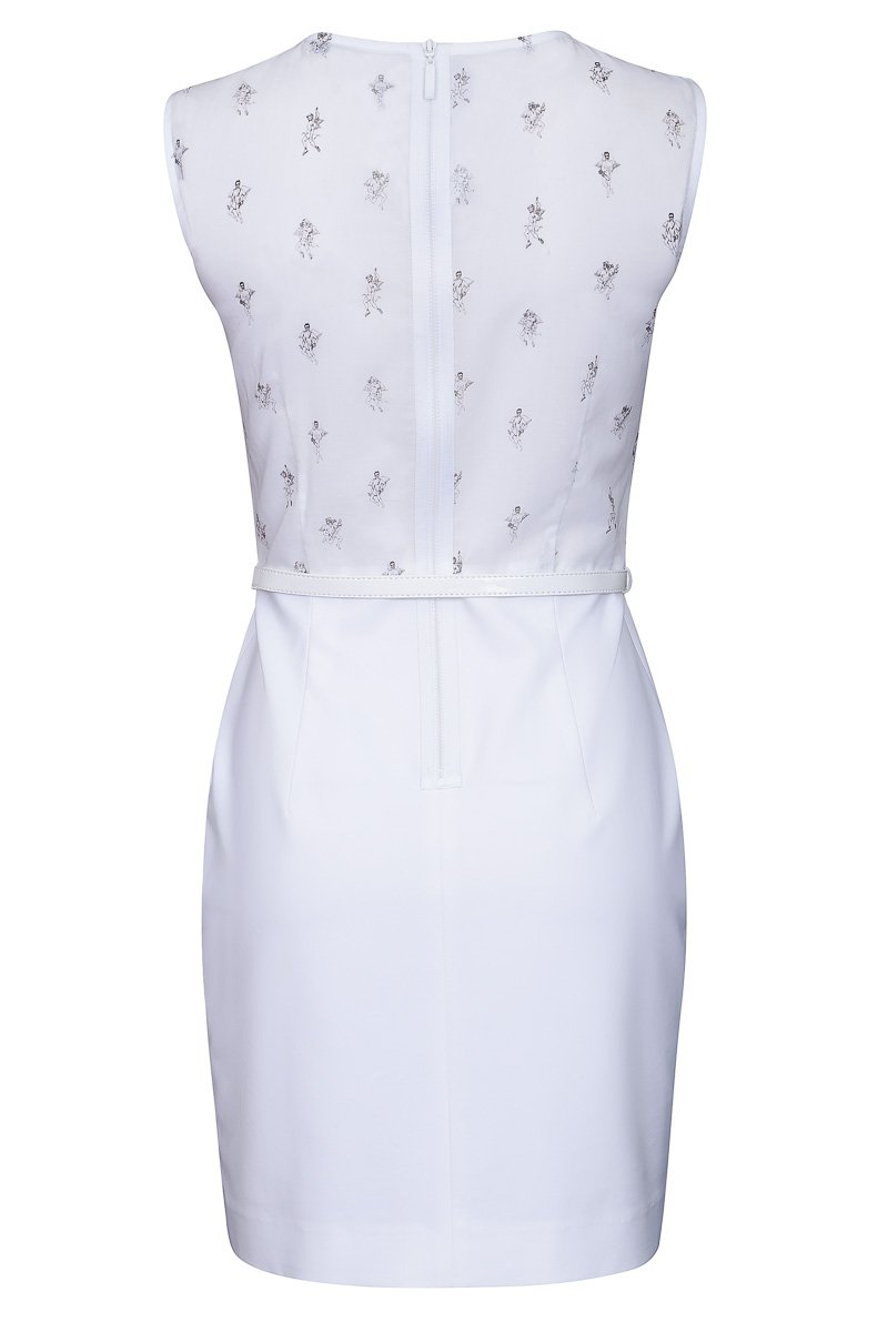 Платье приталенное с юбкой «тюльпан»