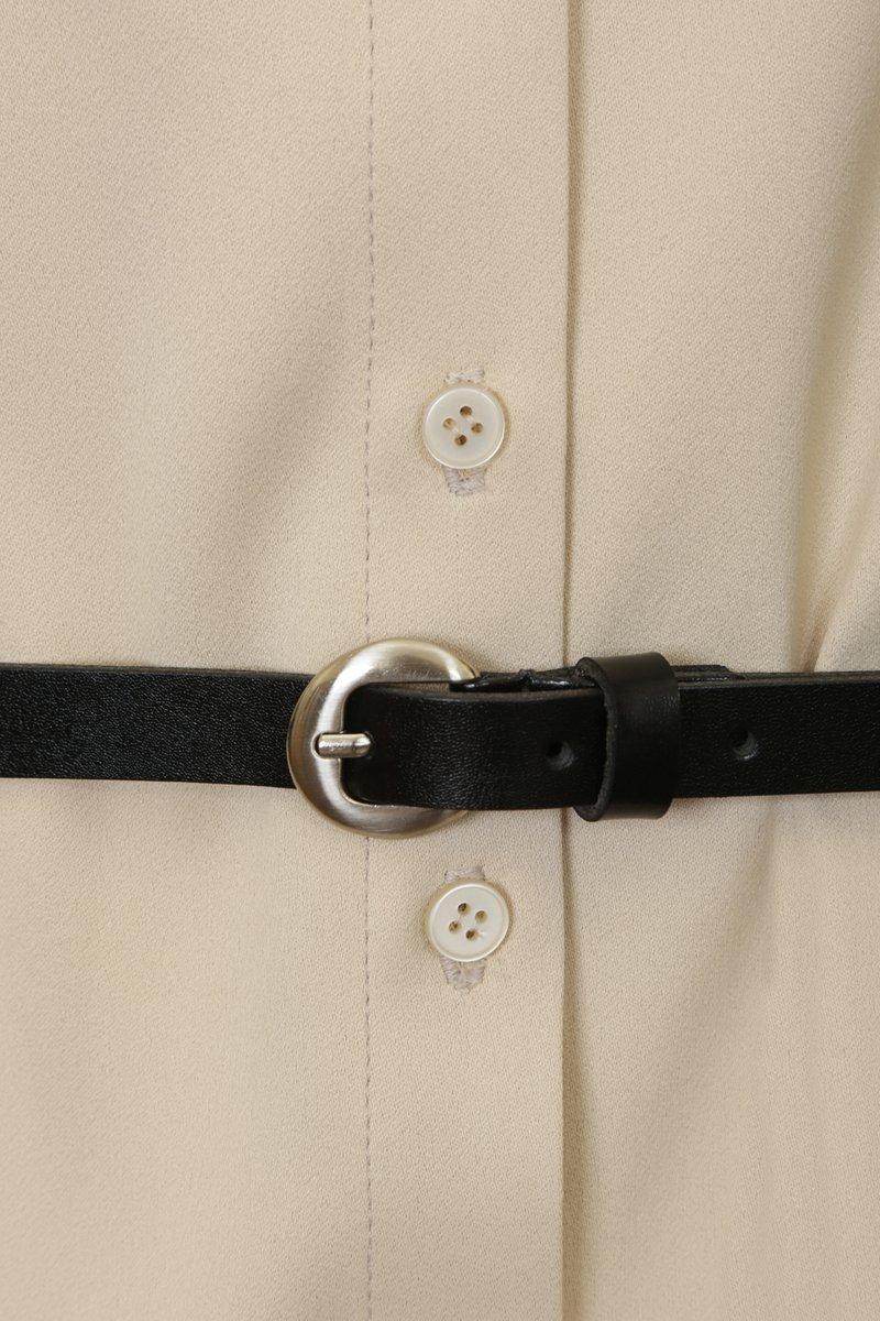Рубашка удлиненная с асимметричным низом