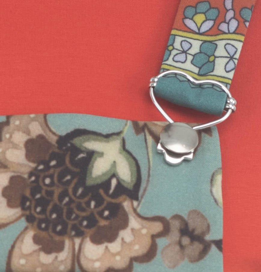 Сарафан с цветочным узором