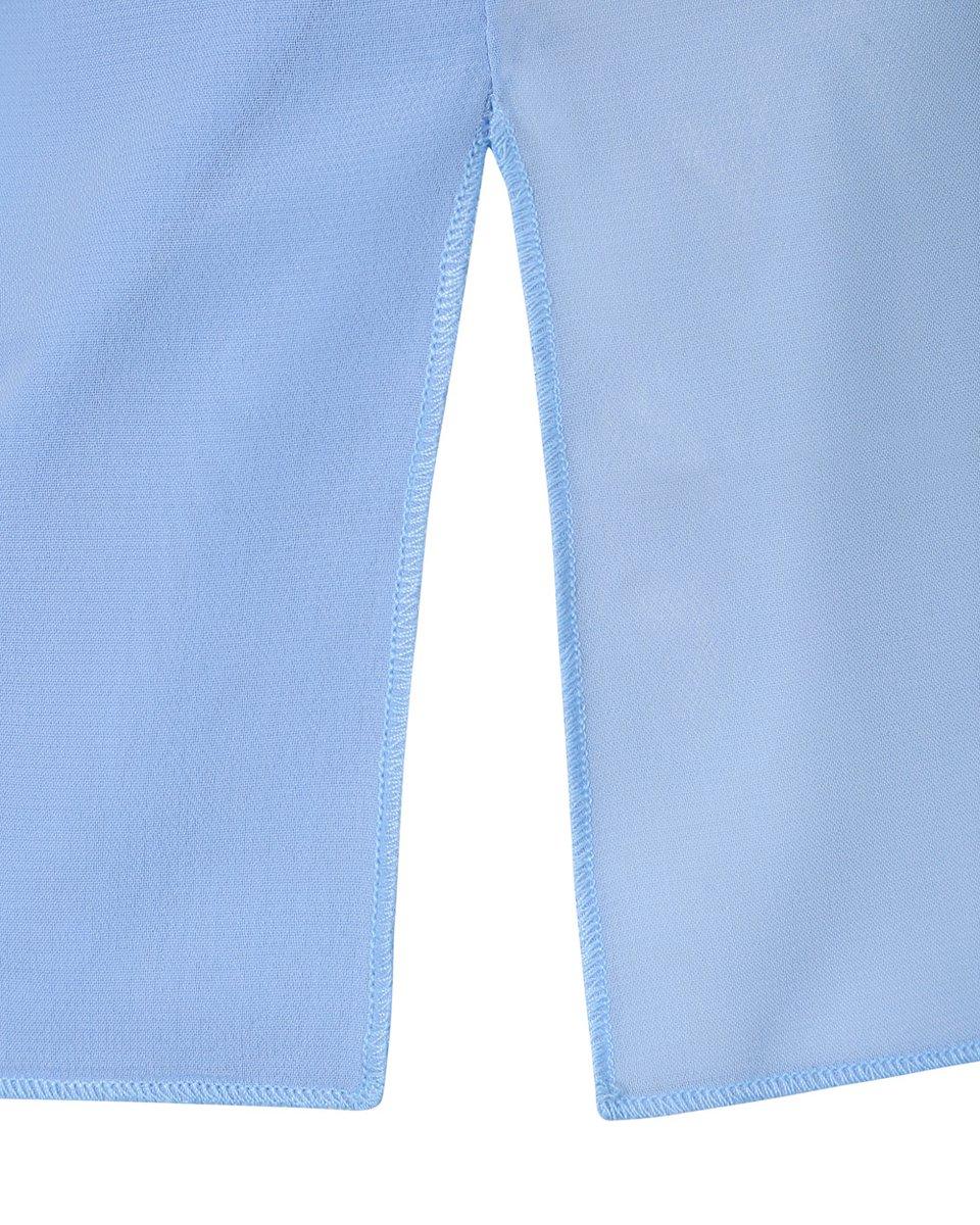 Топ на бретелях небесно-голубого цвета