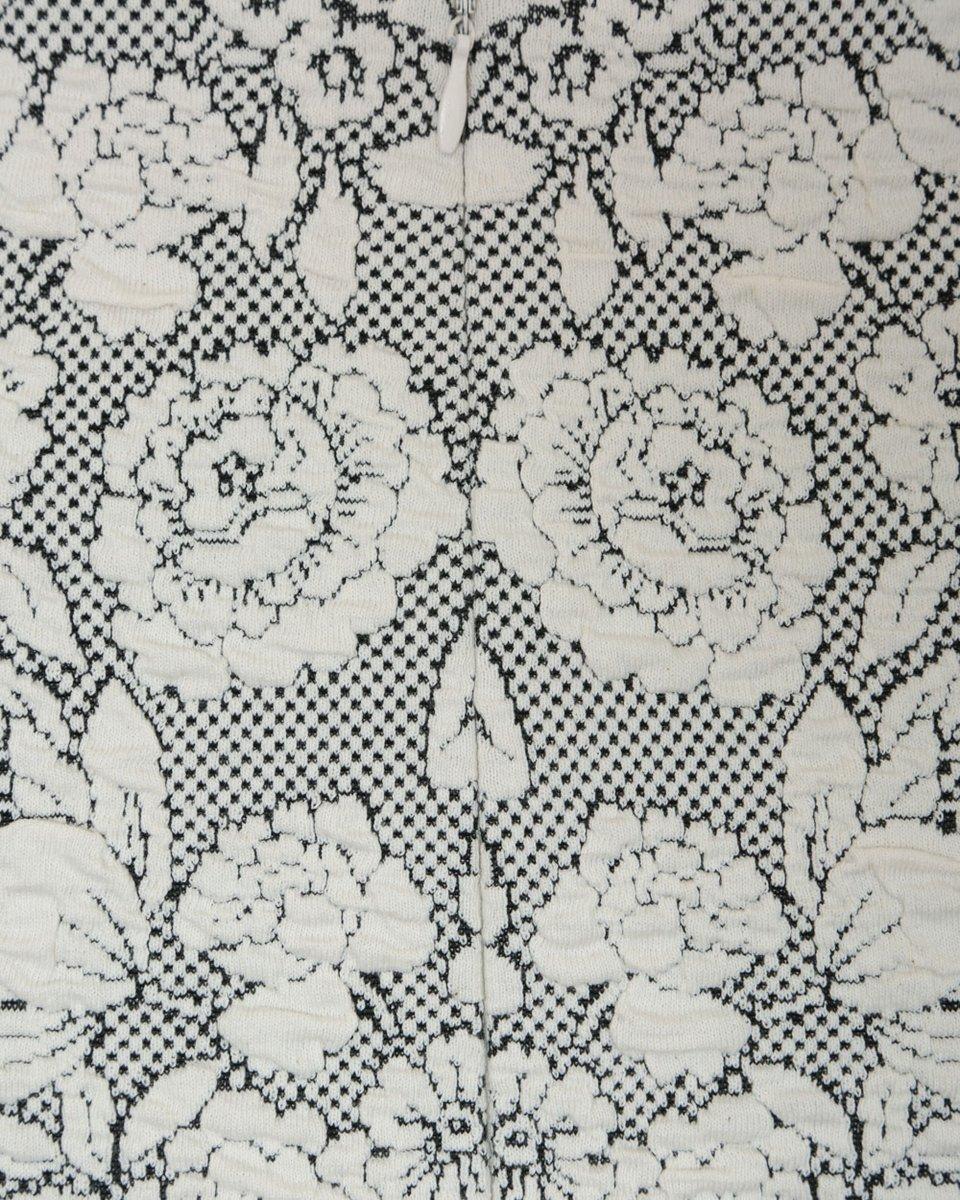 Юбка из трикотажной жаккардовой ткани