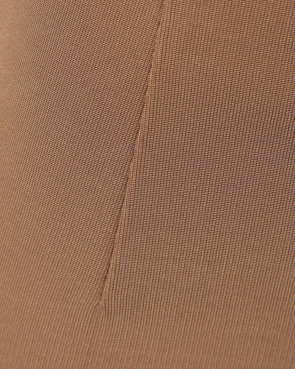 Юбка мини бежевого цвета