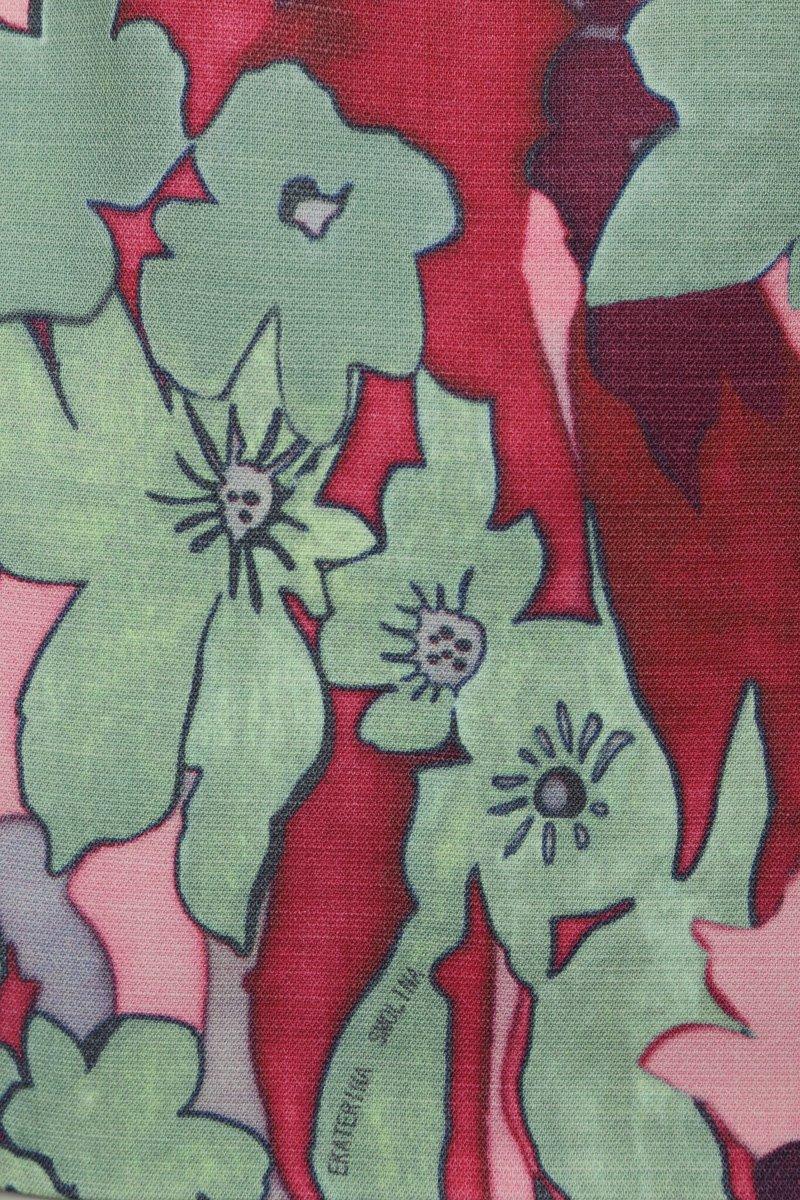 Юбка «тюльпан» из яркой шерсти