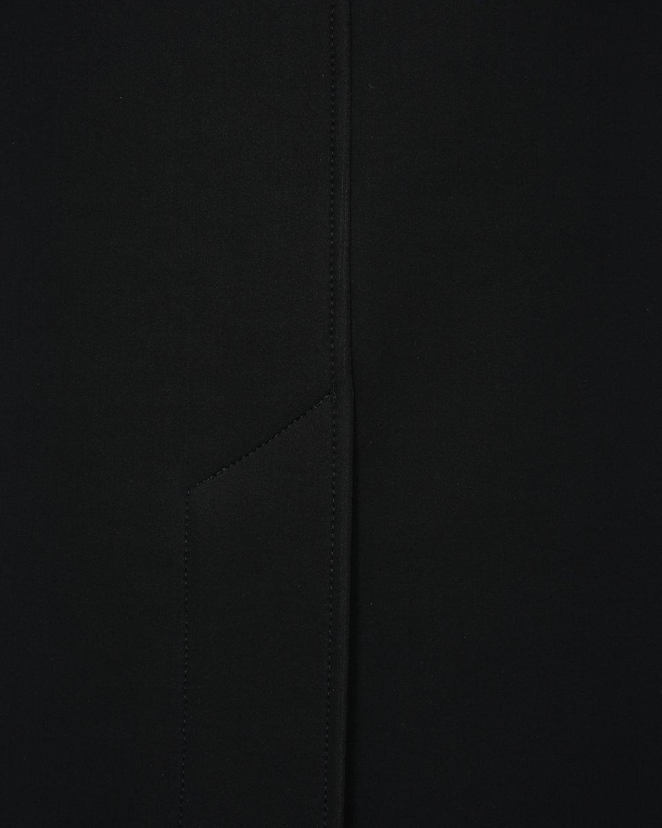 Жилет с шалевым лацканом, черного цвета