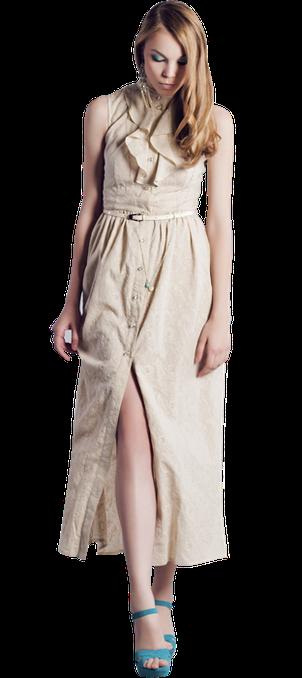 4a6a88945f6 Нарядные длинные платья в коллекции Модного дома Екатерины Смолиной.