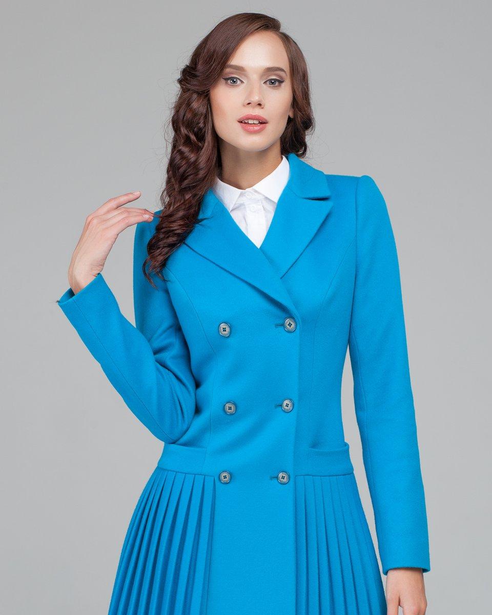 62187a85f54 Расклешенное пальто. Модный дом Екатерины Смолиной.