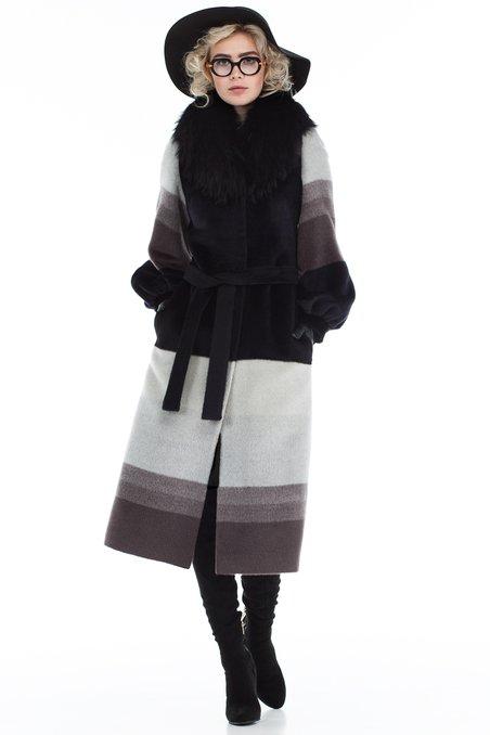 fe514e5f8ae Пальто с воротником стойка. Модный дом Екатерины Смолиной.