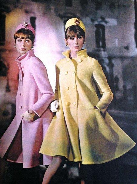 Яркие пальто